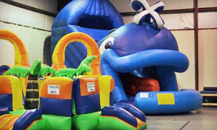 Nothing But Bounce - 6: Birthday-Party Package or Party Package with Rock Wall for Up to 25 Children at Nothing But Bounce (Up to 61% Off)