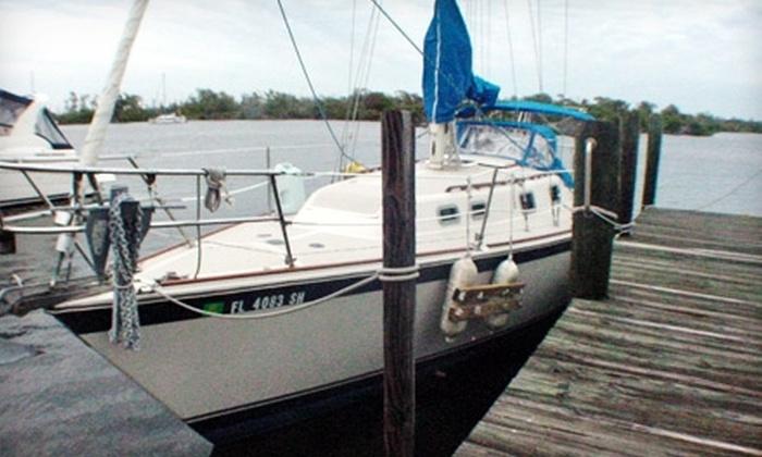 Sebago Sailing, Inc. - Bokeelia: $75 for Private Sailing Lesson for Four or One-Day Sailboat Charter for Four at Sebago Sailing, Inc. ($225 Value)