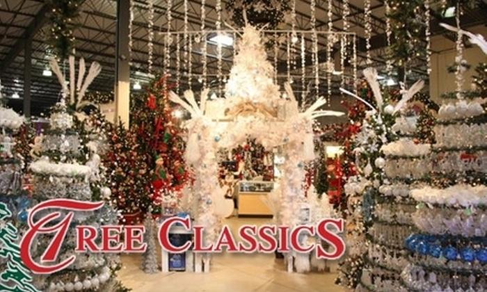 Tree Classics - Lake Barrington: $35 for $70 Worth of Holiday Merchandise at Tree Classics
