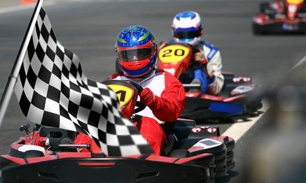 Kartfahren mit 10 Runden Qualifying und 30 Runden Rennen für 8 oder 10 Personen bei K & K Kart ab 159,90 €