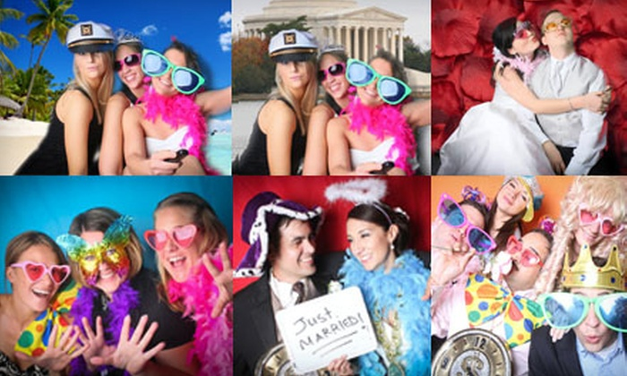 Sweet Dreams Studio - Georgetown: Three- or Four-Hour Photo-Booth Rental from Sweet Dreams Studio (Up to 57% Off)