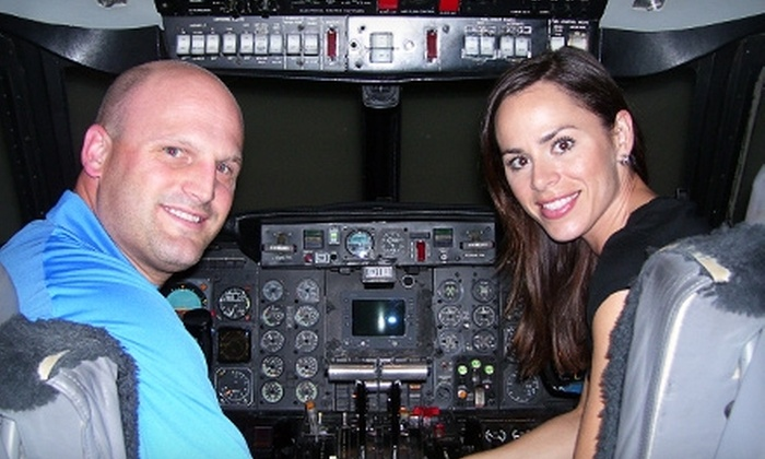 Pilot for a Day - DFW Airport: $198 for a Falcon Flight Simulation for One at Pilot For A Day ($398 Value)