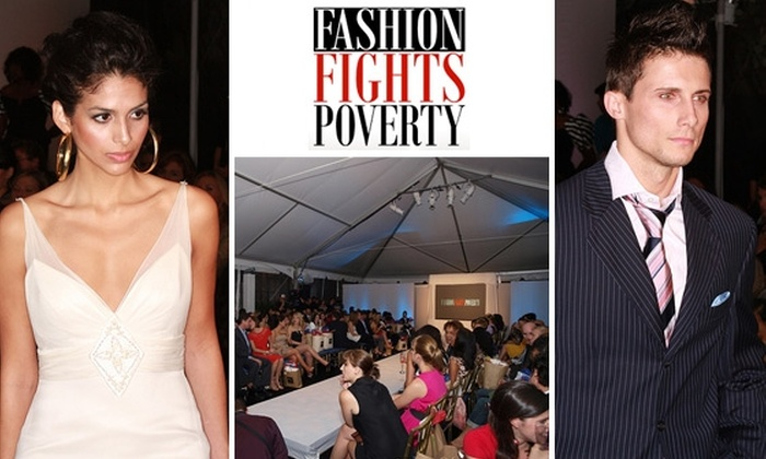 Fashion Fights Poverty - Dupont Circle: $37 Standing-Room Tickets to Fashion Fights Poverty Runway Show Fundraiser, 9/25