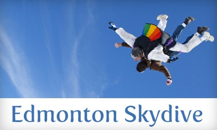 Edmonton Skydive Centre - Westlock: $165 for One Tandem Jump at Edmonton Skydive Centre
