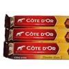 32 barres chocolatées Côte d'Or