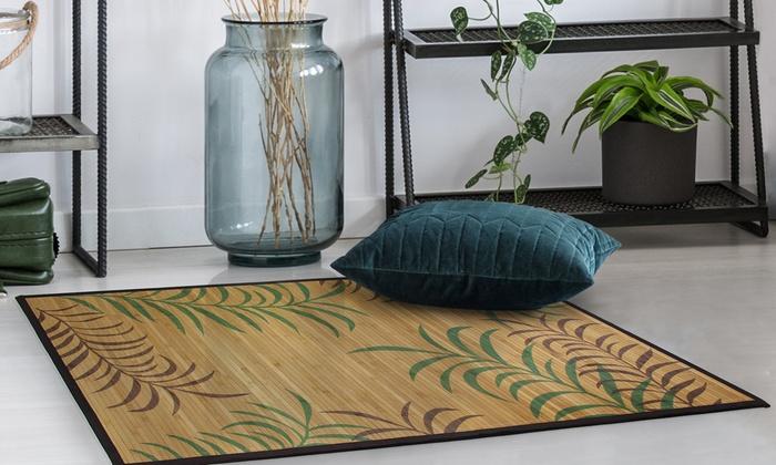 Tapis bambou Jungle | Groupon
