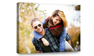 "$5 For 8""x10"" Canvas Portrait From Canvas People ($49.99 Value)"