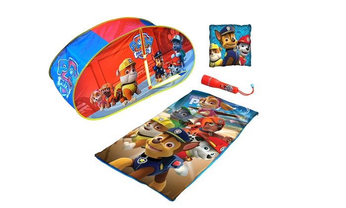Groupon Goods: Paw Patrol Children's Tent and Accessories (Shipping Included)
