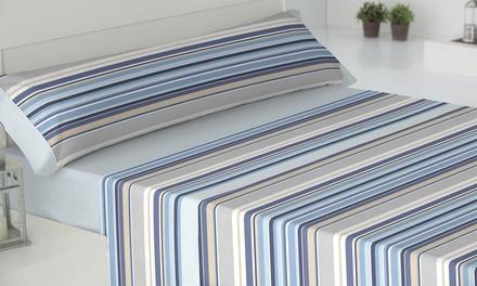 Juego de sábanas estampadas de 3 o 4 piezas