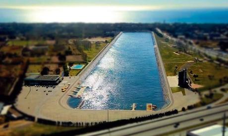Paseo en barca para hasta 4 con entrada y alquiler de bici, canoa o kayak desde 24,90 € en Canal Olímpic de Catalunya