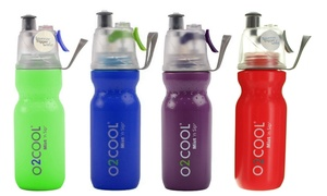 O2Cool Mist 'N Sip Arctic Squeeze 20oz. Misting Water Bottle