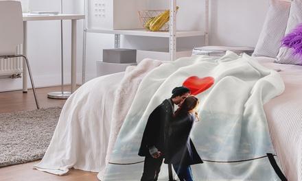 Polar Fleece Decke mit eigenem Foto (bis zu 84% sparen*)
