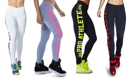 $19 for a Pair of Pro Athlete Women's Slimming Fitness Leggings
