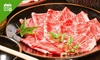 Shabu-shabu with 3 hours all-you-can-drink for up to 4 persons