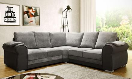 Chris Corner Fabric Sofa