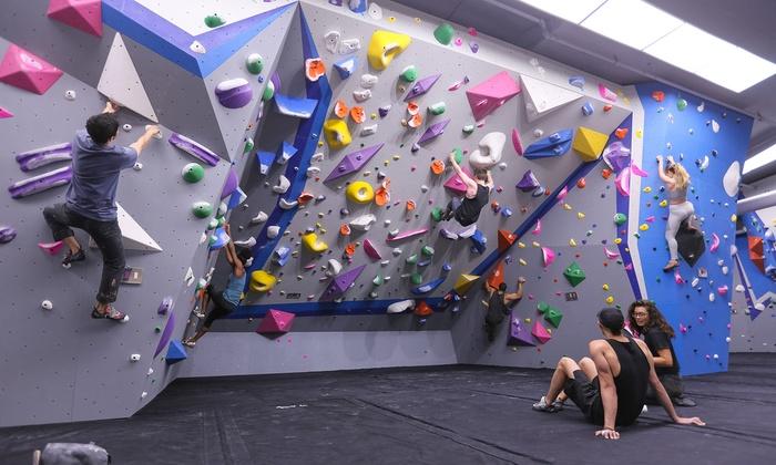 Indoor Climbing - Central Rock Gym Manhattan | Groupon