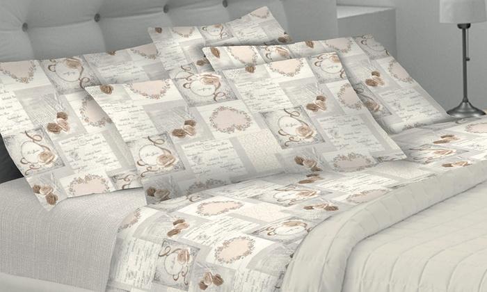 Completo letto in 100% cotone