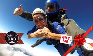 Skydive Auckland: Tandem Skydive: 9,000ft for One ($290) or 13,000ft for Two People ($640) with Skydive Auckland