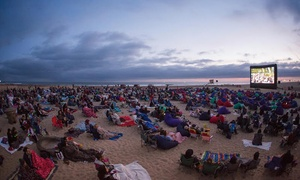 "Beach Front Cinema: Beachfront Cinema —""Star Wars,"" ""Inside Out,"" ""Forrest Gump,"" ""Indiana Jones,"" ""Jaws,"" and More (May 29–September 4)"
