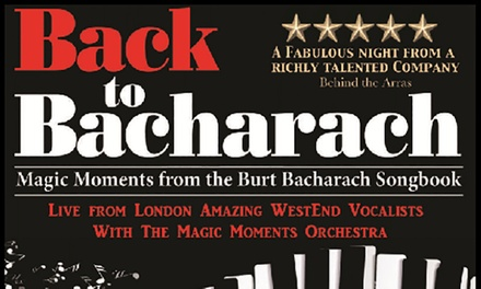 The Heart of Gold Concert on 20 October or Back to Bacharach on 7 October at Spa Pavilion (Up to 40% Off)