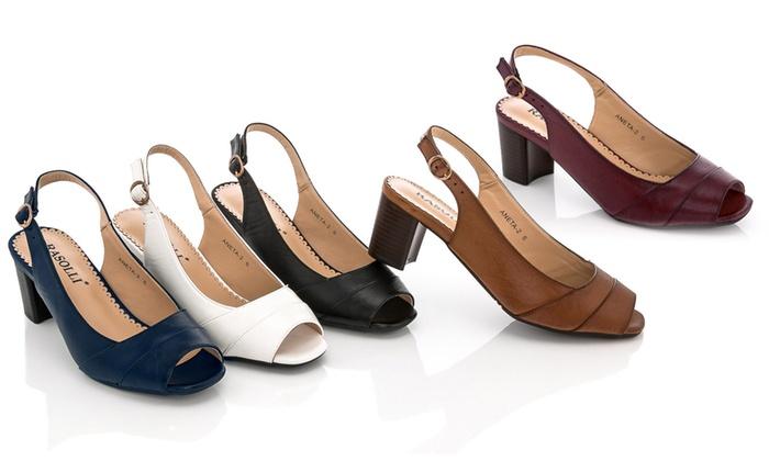 Open-Toe Women's Dress Shoes