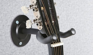 Heavy-Duty Foam-Padded Steel Guitar Hanger Wall Mount
