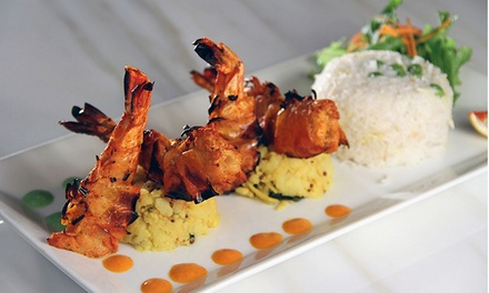 Modern Indian Cuisine for Two or Four at Bombay Blue's (Up to 42% Off)