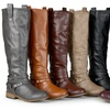 Journee Collection Women's Wide-Calf Knee-High Riding Boots