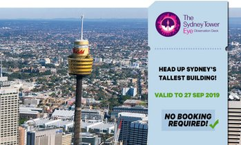 Sydney Tower Eye Entry