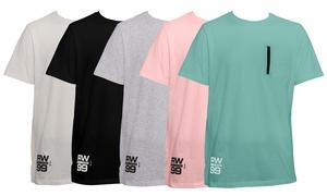 Rocawear Men's Jersey Drop Tail T-Shirt