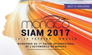 Salon de l'Automobile de Monaco: Pass solo, duo ou famille pour le Salon International de l'automobile de Monaco du 16 au 19 février 2017 dès 9 €