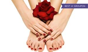 Sekrety Urody: Malowanie hybrydowe paznokci u dłoni lub stóp od 29,99 w salonie kosmetycznym Sekrety Urody w Toruniu