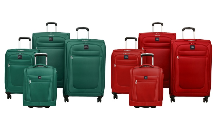 09ee5cf95e5b Skyway Langford Expandable Luggage Set with Underseat Bag (4-Piece ...