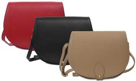 Leder-Schultertasche Coralie für Damen in der Farbe nach Wahl  : 39,90 €