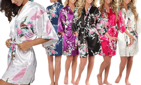 1 o 2 kimonos de seda para mujer desde 17,99 € (hasta 62% de descuento) Oferta en Groupon