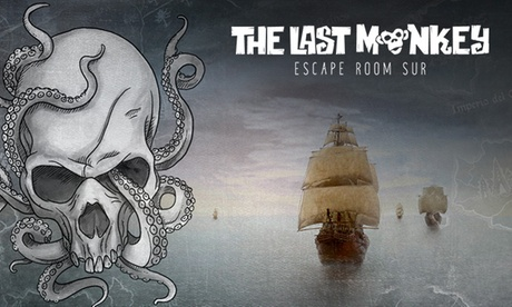 Juego de escape para 2 a 6 personas por 39,95 € en The Last Monkey