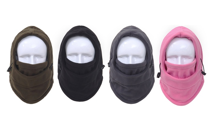 One, Two, Three or Four Six-in-One Thermal Winter Hats from £3.98