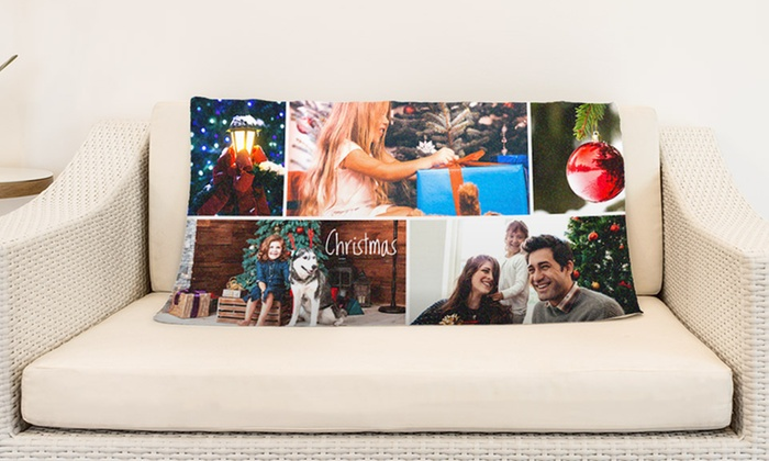 Personalized Picnic Blankets with Option to Add Custom Text or Collage from CanvasOnSale (Up to 94% Off)