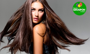 Zilma Scandolara Salão de Beleza: #NiverGroupon - Zilma Scandolara –Centro: progressiva, escova inteligente ou botox e argan (opção de modeladora e corte)