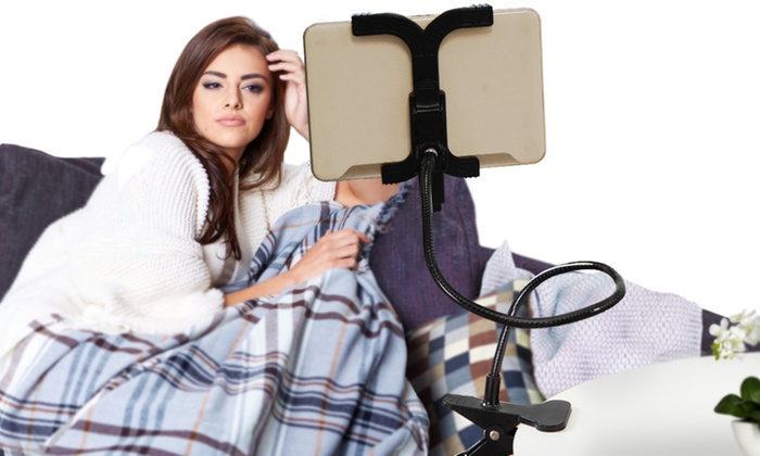 360-Degree Lazy Clamp Tablet Holder From £7.99