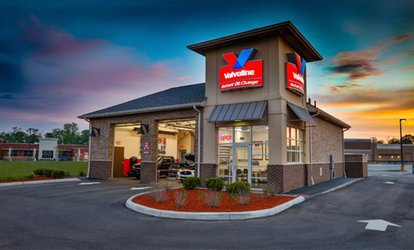 image for One Full-Service Oil Change at Valvoline Instant Oil Change (Up to 38% Off). Three Options Available.