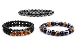 1, 2 ou 3 bracelets unisexes