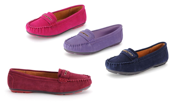 Mocassins 100% cuir, Snow Paw   Groupon Shopping 69890d611d50