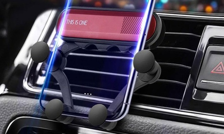 Support Voiture - Tous Smartphones (Apple & Samsung) - Ultra Plat - Coussins en silicone