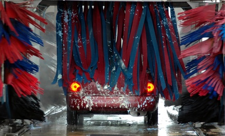 One or Three Car Washes, or 12 Months of Unlimited Car Washes at Desert Auto Spa & Car Wash (Up to 58% Off)