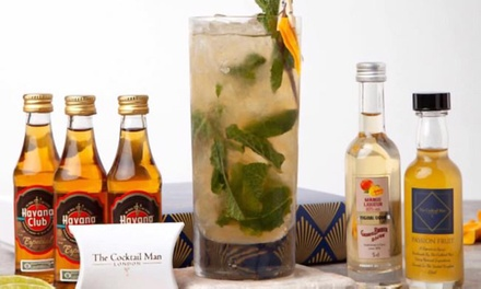 50% Off Three-Month Cocktail Subscription Packages from The Cocktail Man