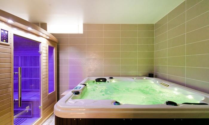 bain remous et sauna infrarouge i love my popotin 11 groupon. Black Bedroom Furniture Sets. Home Design Ideas