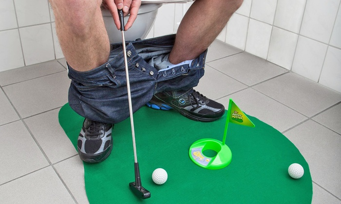 Captivating Bathroom Fishing, Basketball And Golf Sets ...