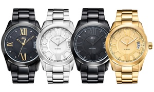 Bond Men's Genuine Diamond Watch