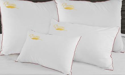 1, 2 o 4 almohadas de plumas de pato